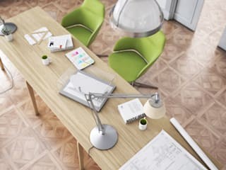 Office Mood: Studio in stile  di Virgo Design