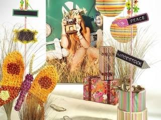 Flower Power - Ihre Sommerdeko im Stil der 70er-Jahre!:   von Decorado GmbH