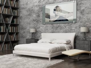 Dormitorios de estilo moderno de SolidART Digital Architecture Moderno