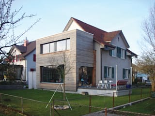 Modernisierung EFH Bühlweg, Windisch, 2006 Moderne Häuser von 5 Architekten AG Modern