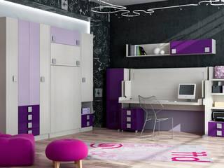 MUEBLES JUVENILES ABATIBLES de Muebles Parchis. Dormitorios Juveniles. Moderno