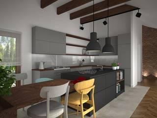 Kameleon - Kreatywne Studio Projektowania Wnętrz Modern Kitchen