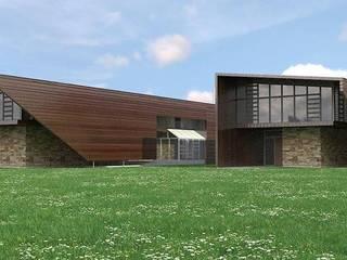 Museos de estilo moderno de SolidART Digital Architecture Moderno
