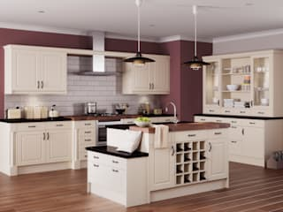 Arran Ivory Island | Sigma 3 Kitchens : classic Kitchen by Sigma 3 Kitchens
