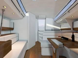 Yates y jets de estilo moderno de SolidART Digital Architecture Moderno