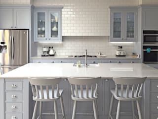 Our Classic Range Kitchen in a Richmond Home Simon Benjamin Furniture Dapur Klasik