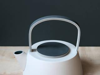 Handmade slip cast teapot:   by madebyhandonline.com