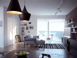 غرفة المعيشة تنفيذ SMAG design