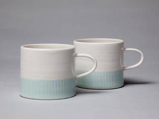 White Ocean Cups:   by madebyhandonline.com