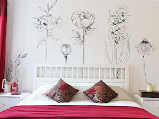 Hand drawn flower (pack 1) wall stickers Vinyl Impression Walls & flooringWall tattoos