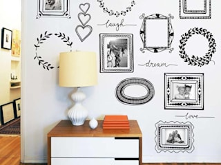 Picture frames wall sticker pack Vinyl Impression Walls & flooringWall tattoos