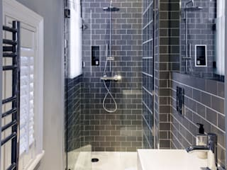 Addison Grove Modern bathroom by Hamilton King Modern