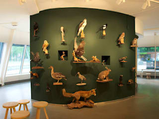 Amsterdam Forest:  Exhibitieruimten door NAPSTUDIO