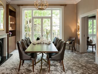 Luxury North London family home Modern dining room by Camouflage Modern