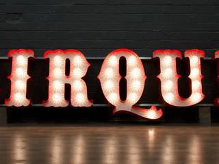 'Cirque' Bar - Old Street, London Bar & Klub Modern Oleh Goodwin & Goodwin Modern