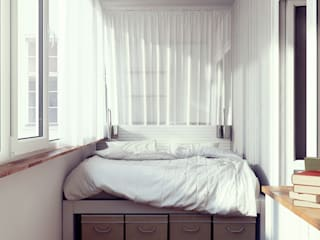 Bedroom by sreda, Scandinavian