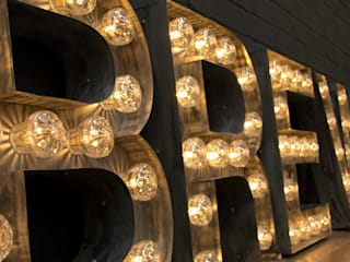 ​Brewdog Truck - Light letters:  Event venues by Goodwin & Goodwin