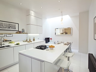 Tabard Street Scandinavian style kitchen by Hamilton King Scandinavian