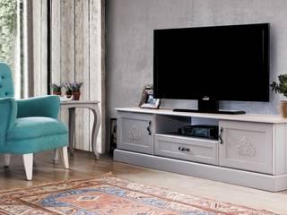 Berke Mobilya – Grey Tv Sehpası:  tarz