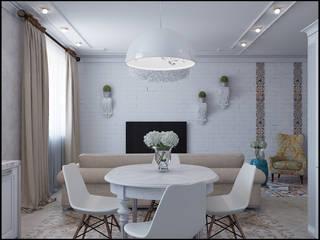 Salle à manger moderne par Частный дизайнер и декоратор Девятайкина Софья Moderne
