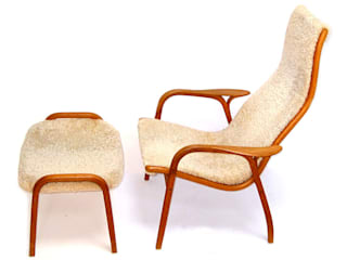 Lamino Chair and Footstool kirkmodern Living roomSofas & armchairs