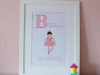 FRAMED PRINTS :: LITTLE GIRLS Hope & Rainbows Stanza dei bambiniAccessori & Decorazioni