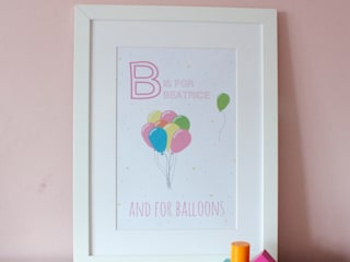 FRAMED PRINTS :: LITTLE GIRLS di Hope & Rainbows Moderno
