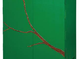 삼베가구(녹): 문재필 옻칠갤러리의