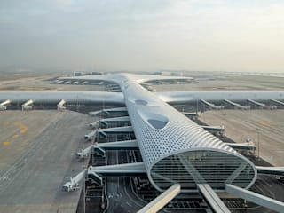Shenzhen International Airport de Knippers Helbig Advanced Engineering Moderno