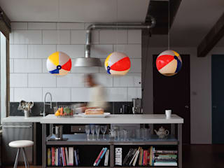 Beach Ball Lights: modern  by I Love Mel, Modern