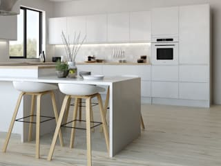 Manhattan gloss range from Kitchen Stori: modern  by Kitchen Stori, Modern