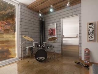 Kamar Tidur Modern Oleh D2 Studio Modern