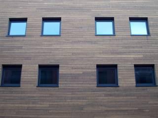 Bamboe Moderne huizen van Punto Verde Bamboe toepassingen Modern