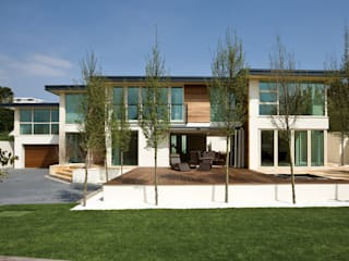 22 Chaddesley Glen Casas modernas de David James Architects & Partners Ltd Moderno