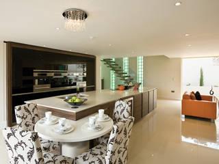22 Chaddesley Glen Cocinas de estilo moderno de David James Architects & Partners Ltd Moderno