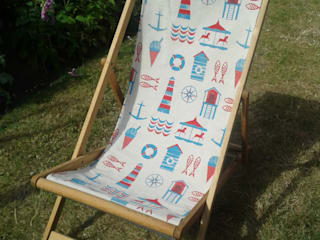 Deck Chair par Anna Bird Textiles Moderne