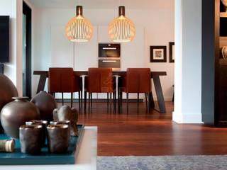 Salle à manger moderne par BVO Vloeren Moderne