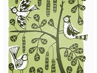 Trees: scandinavian  by Ruth Green Design and Printmaking, Scandinavian