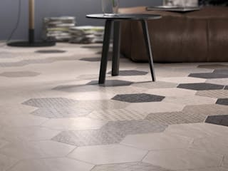 Hexagonal Floor Tiles Tileflair 牆面