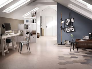 Hexagonal Floor Tiles Tileflair Pareti & Pavimenti in stile moderno