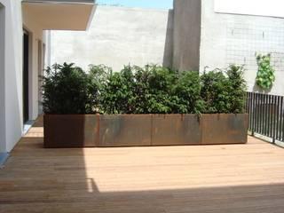Vloeren Moderne muren & vloeren van Punto Verde Bamboe toepassingen Modern