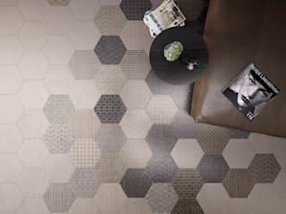 Hexagonal Floor Tiles Tileflair Moderne Wände & Böden