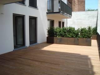 Vloeren:  Muren door Punto Verde Bamboe toepassingen