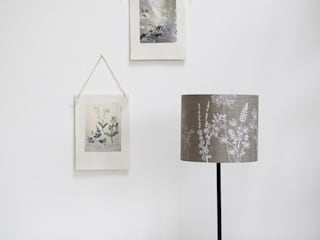 Hand Printed Linen Lampshades: country  by Helen Round, Country