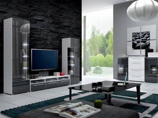 Mueble de salón de diseño Alicia modelo 2:  de estilo  de Domensino