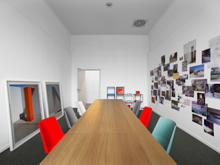 e15 Headquarter, Frankfurt, Germany de Philipp Mainzer Office for Architecture Moderno
