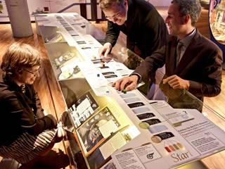 Jubiläumsausstellung VTG AG »EIN BLICK ZURÜCK NACH VORN«:  Veranstaltungsorte von Skope inventive spaces