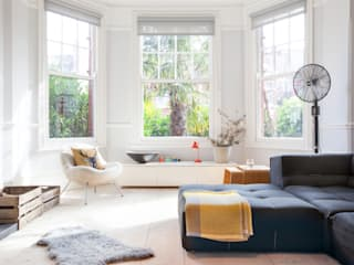 PG Residence 北欧デザインの リビング の deDraft Ltd 北欧