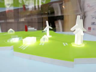 interaktives Exponat E.ON HANSE AG »SMARTREGION PELLWORM« Ausgefallenes Messe Design von Skope inventive spaces GmbH Ausgefallen