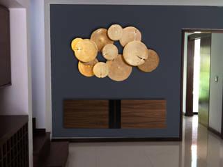 CASA SOLTERO Salas multimedia modernas de MINT INTERIORISMO Moderno